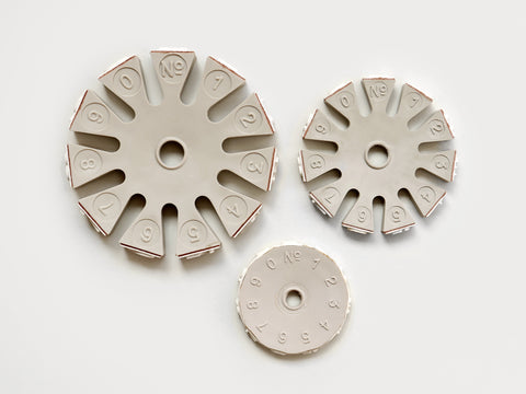 Number Stamp Wheels