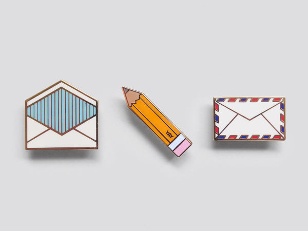Enamel Stationery Pin
