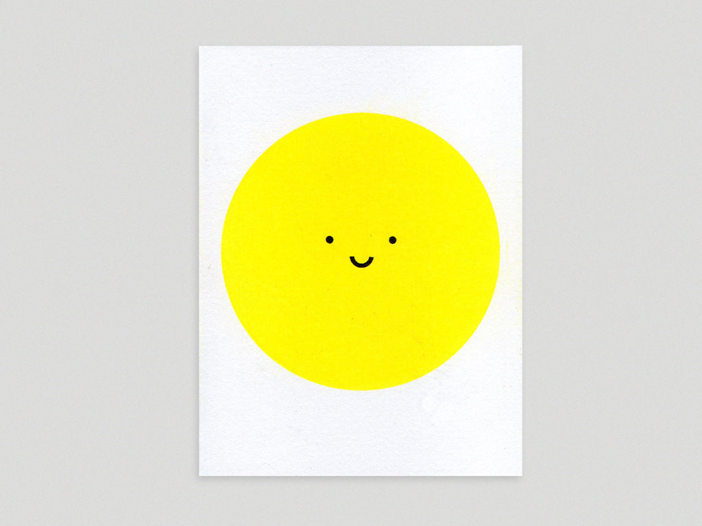 Happy Sun Card