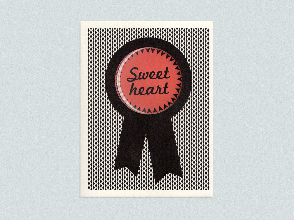 Sweetheart Badge Card