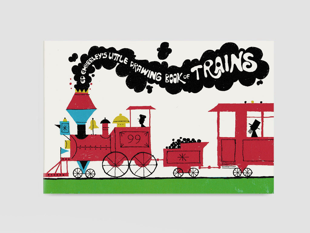 Little Drawing Book of Trains (1973)