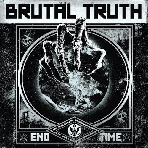 Brutal Truth - End Time LP - Grindpromotion Records