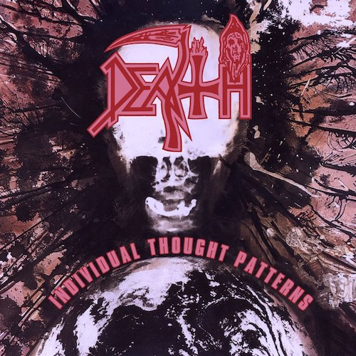 Death - Individual Thought Patterns (Milk Clear Splatter Vinyl) LP - Grindpromotion Records