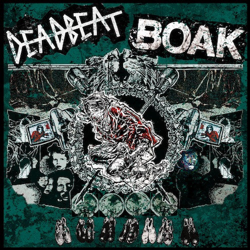 "Deadbeat / Boak - Deadbeat / Boak 7"" - Grindpromotion Records"