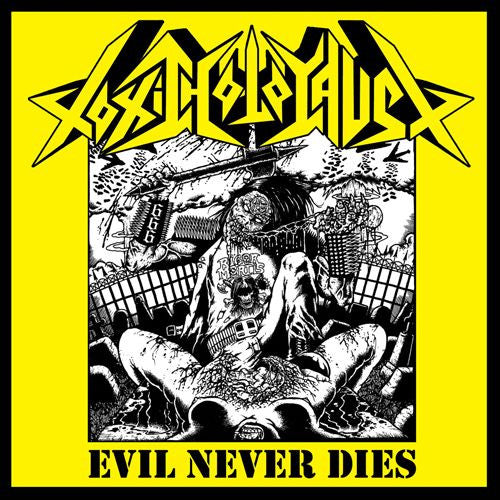 Toxic Holocaust - Evil Never Dies LP (White Vinyl)
