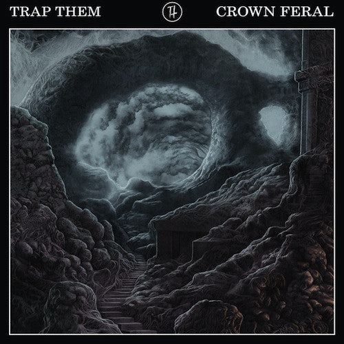 Trap Them ‎– Crown Feral LP (Red Vinyl) - Grindpromotion Records