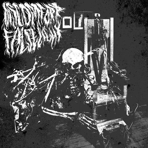 Discomfort / False Light  - Discomfort / False Light ‎LP - Grindpromotion Records