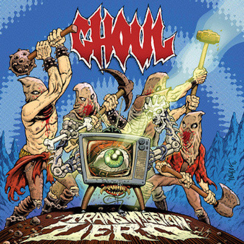 Ghoul ‎– Transmission Zero LP - Grindpromotion Records
