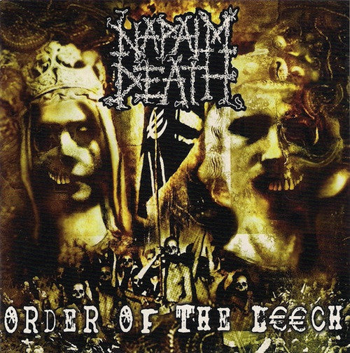 Napalm Death ‎– Order Of The Leech LP - Grindpromotion Records