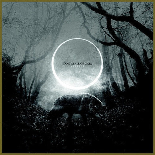 Downfall Of Gaia ‎– Atrophy LP (Black / White Split Vinyl) - Grindpromotion Records