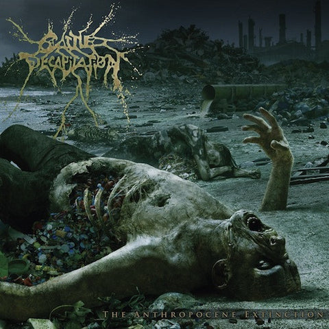 Cattle Decapitation ‎– The Anthropocene Extinction LP (180g Vinyl + Poster)