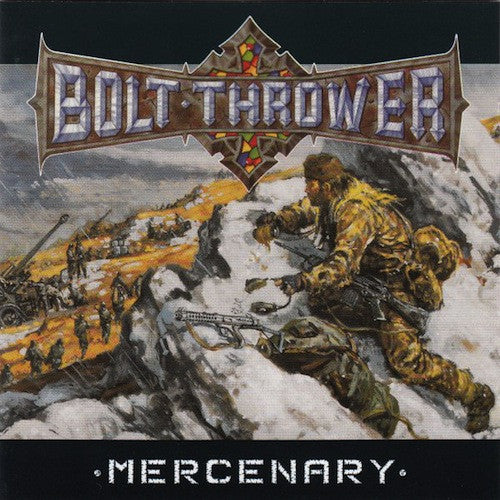 Bolt Thrower ‎– Mercenary LP (180g Vinyl + Poster) - Grindpromotion Records