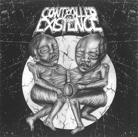 Controlled Existence / Headless Death ‎– Untitled / Desperate Pigs 7""