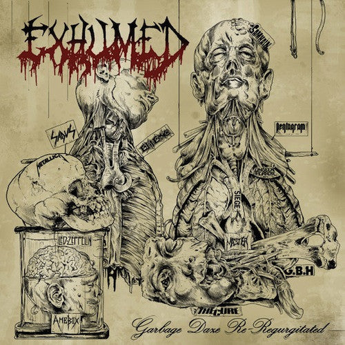 Exhumed ‎– Garbage Daze Re-Regurgitated LP - Grindpromotion Records