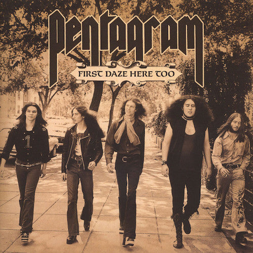 Pentagram ‎– First Daze Here Too - The Vintage Collection 2XLP - Grindpromotion Records