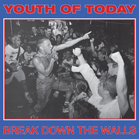 Youth Of Today ‎– Break Down The Walls LP (Red Opaque Vinyl)