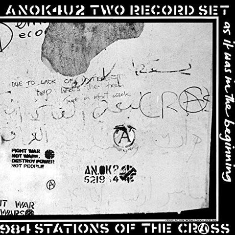 Crass ‎– Stations Of The Crass 2xLP