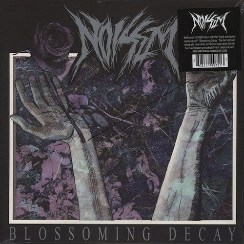 Noisem ‎– Blossoming Decay LP (Splatter Vinyl) - Grindpromotion Records