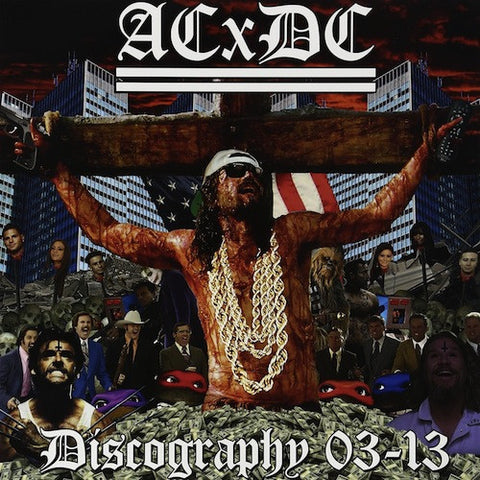 ACxDC ‎– Discography 03-13 LP (Picture Disc Vinyl)