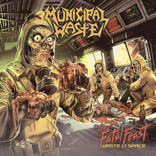 Municipal Waste ‎– The Fatal Feast LP - Grindpromotion Records