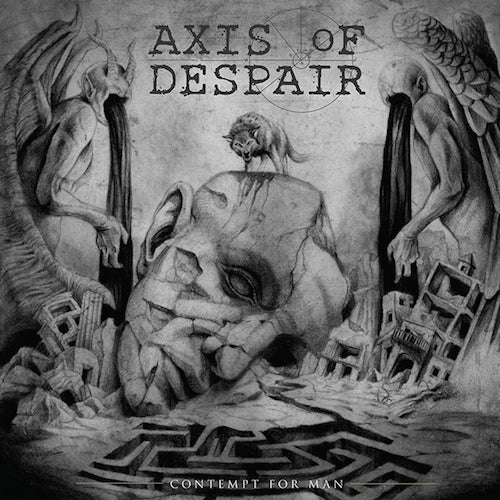 Axis Of Despair – Contempt For Man LP - Grindpromotion Records