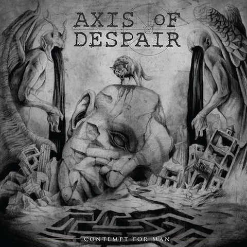 Axis Of Despair – Contempt For Man LP