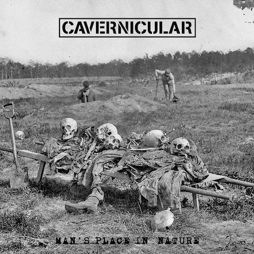 Cavernicular - Man's Place In Nature LP - Grindpromotion Records