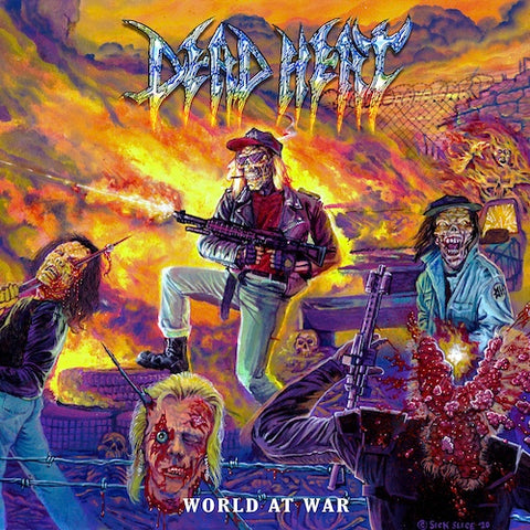DEAD HEAT - WORLD AT WAR LP