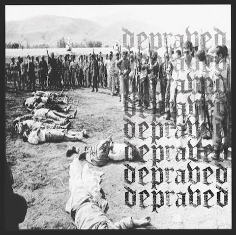 "Depraved - Demo 2016 7"" (Black Vinyl) Limited 200 Copies + Depraved - Demo 2016 7"" (Yellow Vinyl) Limited 100 Copies"