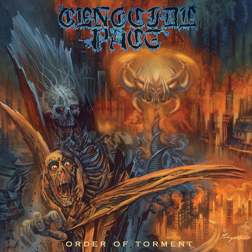 Genocide Pact - Order of Torment LP - Grindpromotion Records