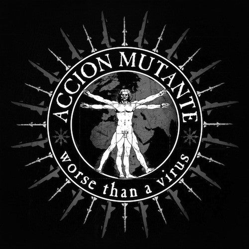 Accion Mutante ‎– Worse Than A Virus LP - Grindpromotion Records