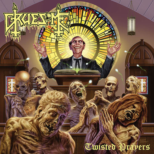 Gruesome - Twisted Prayers LP - Grindpromotion Records