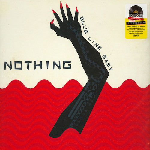 Nothing ‎– Blue Line Baby LP (S/Sided White Vinyl) - Grindpromotion Records