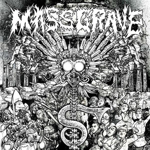 MassGrave ‎– The Absurdity Of Humanity LP - Grindpromotion Records