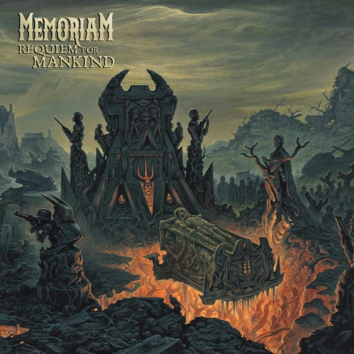 Memoriam ‎– Requiem For Mankind LP - Grindpromotion Records