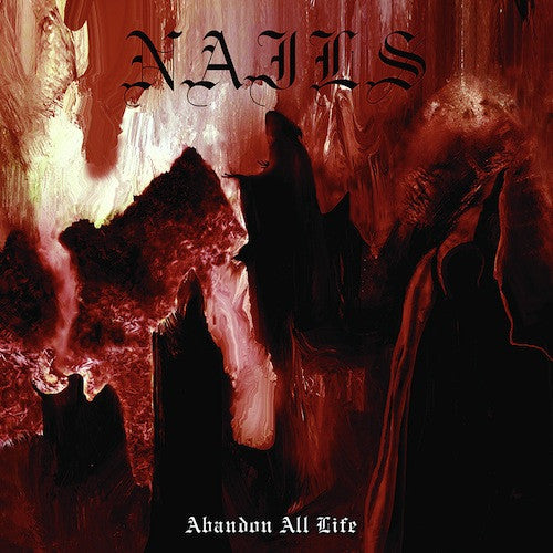 Nails ‎– Abandon All Life LP (Silver Vinyl) - Grindpromotion Records