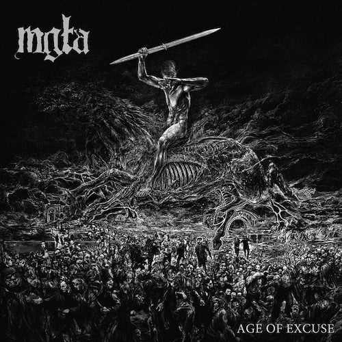 Mgła ‎– Age Of Excuse LP - Grindpromotion Records