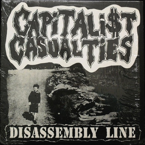 Capitalist Casualties ‎– Disassembly Line LP (Purple Vinyl) - Grindpromotion Records