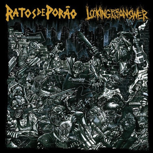 "Ratos De Porão / Looking For An Answer ‎– Ratos De Porão / Looking For An Answer 10"" - Grindpromotion Records"