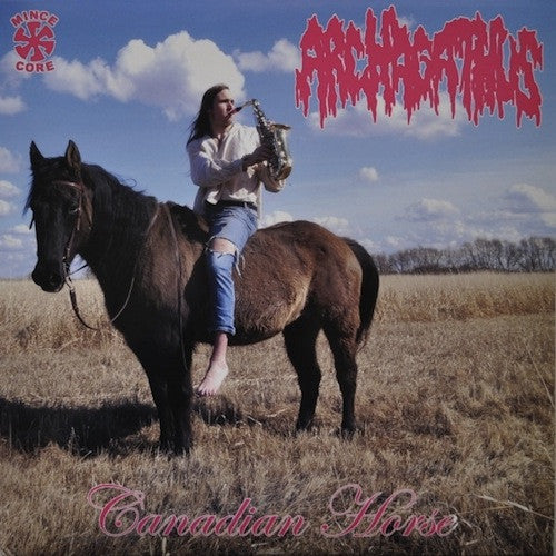 Archagathus ‎– Canadian Horse LP (Blue / Yellow Vinyl) - Grindpromotion Records