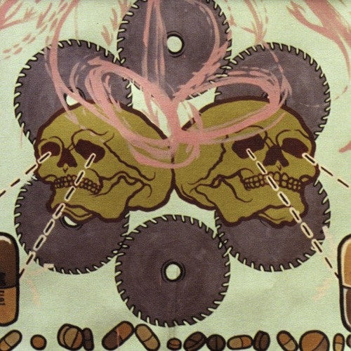 Agoraphobic Nosebleed ‎– Frozen Corpse Stuffed With Dope LP - Grindpromotion Records