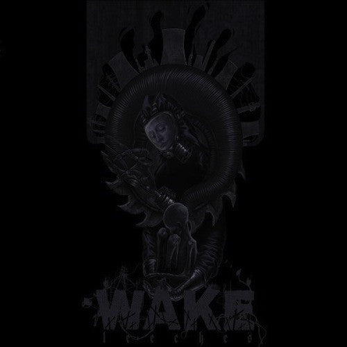 Wake ‎– Leeches LP (Grey Black Marbled Vinyl) - Grindpromotion Records