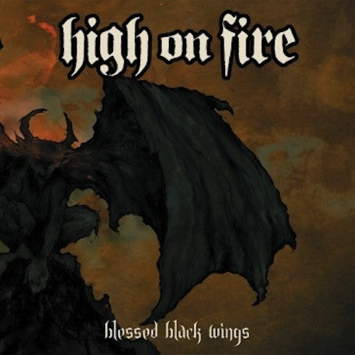 High On Fire ‎– Blessed Black Wings 2XLP (Swamp Green Splatter Vinyl)