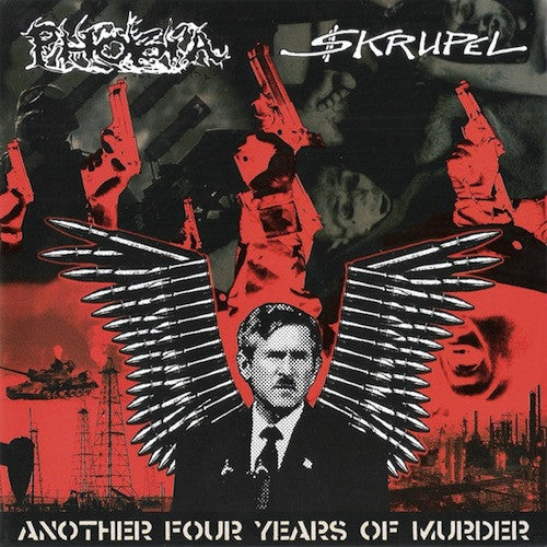 "Phobia / Skrupel ‎– Another Four Years Of Murder 7"" (White Vinyl)"