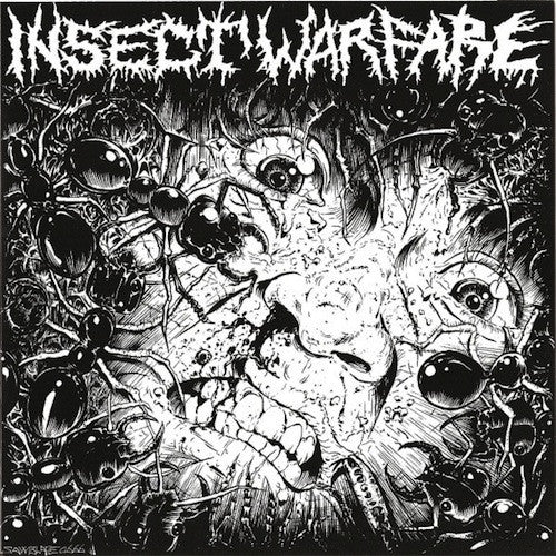 "Insect Warfare / Carcass Grinder ‎– Untitled / Do You Love Grind? Pt:4 7"" (Yellow Vinyl)"
