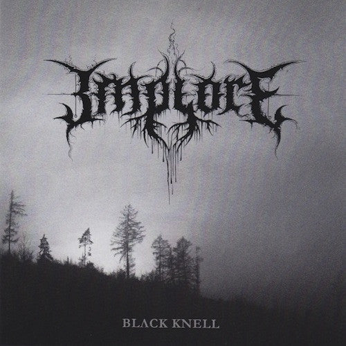 "Implore ‎– Black Knell 7"" - Grindpromotion Records"