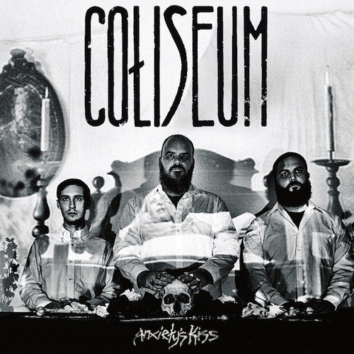 Coliseum ‎– Anxiety's Kiss LP (Silver Vinyl) - Grindpromotion Records