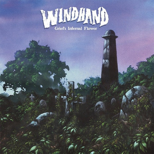 Windhand ‎– Grief's Infernal Flower 2XLP (Clear With Splatter) - Grindpromotion Records