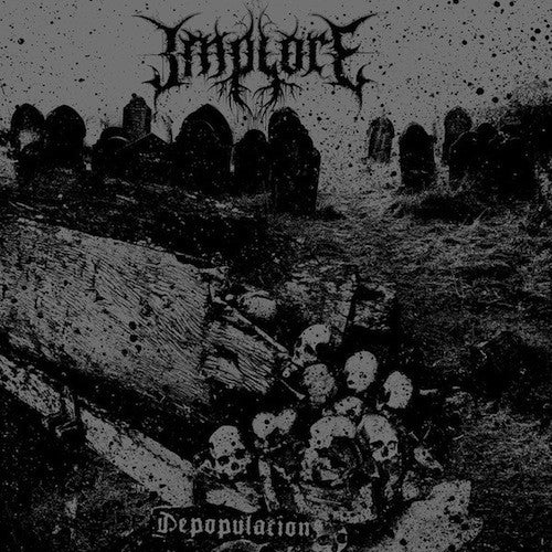 Implore ‎– Depopulation LP - Grindpromotion Records