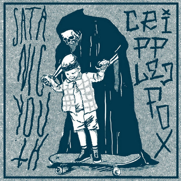 "Satanic Youth / Crippled Fox - Satanic Youth / Crippled Fox 7"" - Grindpromotion Records"